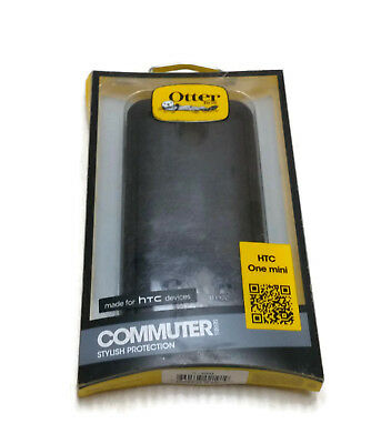 New OtterBox Commuter Series Case For HTC One Mini (Black) - 77-29692
