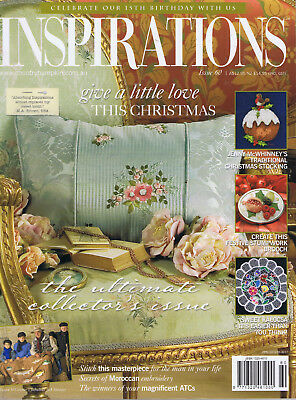 INSPIRATIONS MAGAZINE issue 60 pattern attached  CHRISTMAS VGC