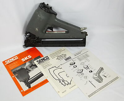 Senco Model J Air Staple Gun Upholstery As Found Untested Thin Wire