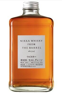 Nikka Straight From The Barrel 500mL - Very Rare And Limited