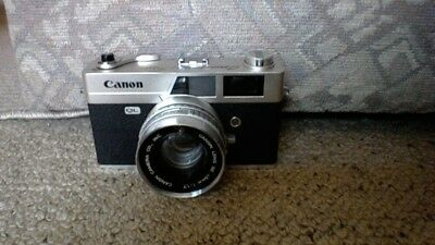 Canon Canonet QL17 35mm w/ 45mm f/1.7 Lens (as is, untested)