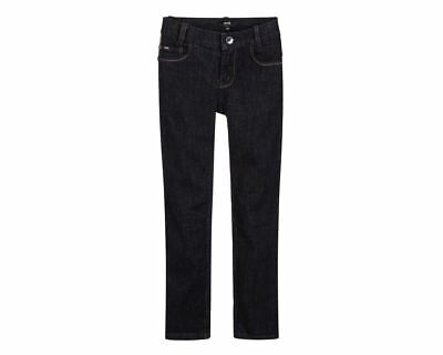 Boys Hugo Boss J24449 Z35 Elastic Waistband Boys Jeans Blue