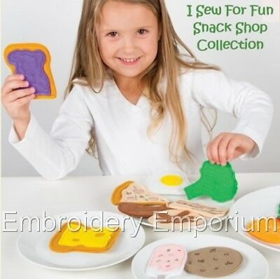 I Sew For Fun Snack Shop Collection - Machine Embroidery Designs On Cd