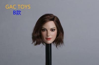 1 6 Anne Hathaway Catwoman Head Sculpt Bob Short Hair For Hot Toys Phicen 32 50 Picclick