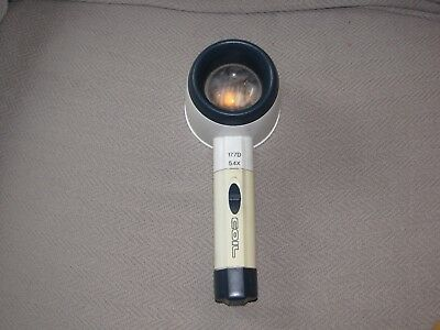 5.4X COIL Lighted Hand Held, Stand Magnifier - 1.75 Inch Lens
