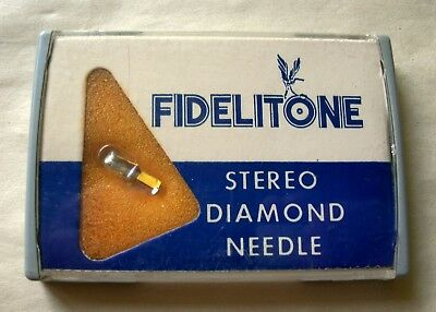 Fidelitone A-269D vintage phonograph needle stereo new old stock Shure M3D