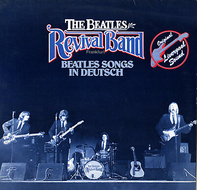 LP The Beatles Revival Band - Beatles Songs in deutsch