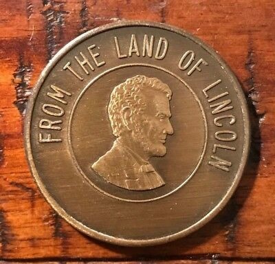 1967-1968 Imperial Potentate Thomas F. Seay From the Land of Lincoln Mason Coin