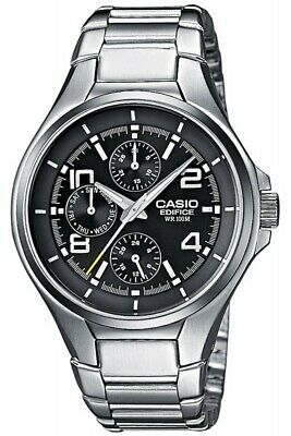 9a15afee6aec Casio Edifice Herrenuhr Multifunktionsuhr EF-316D-1AVEF