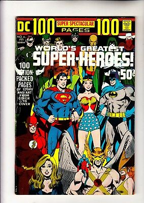 DC 100 Page Super Spectacular 6 classic Neal Adams wrap around cover