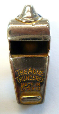 """Vintage """"The Acme Thunderer"""" Whistle Made in England"""