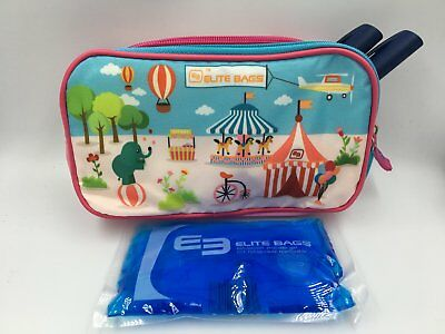 Circus unisex design insulin bag