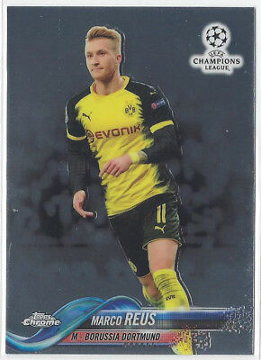 Topps Chrome 2017-18 Champions League Borrussia Dortmund Base Cards