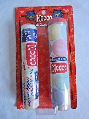 Necco Classic Sweet Keeper tin & candy roll--rare , 2008 (BH)
