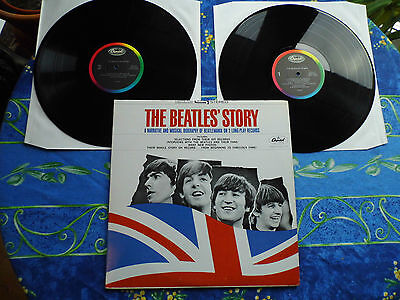 Beatles Dlp ♫ The Story 1965 ♫ Rare Capitol Stbo 2222 Us Records ♫  #4