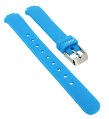 Calypso Spare Band Made of Silicone in Blue Soft Smooth Special End Size ⇒