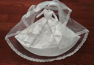 Barbie Doll Bridal Gown - 'father Of The Bride' - Elizabeth Taylor - Beautiful