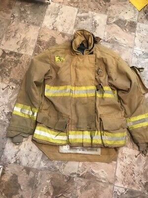 Morning Pride Firefighter Turnout Coat Size 48/36 Halloween Costume