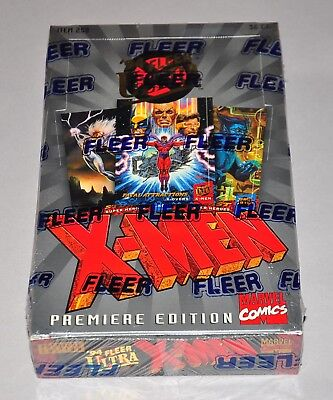 1994 Fleer Ultra X-Men Premiere Edition Factory Sealed Box Trading Cards