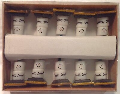 S'mores Christmas Lights 10 Light String S'more Snowmen Midwest of Cannon Falls