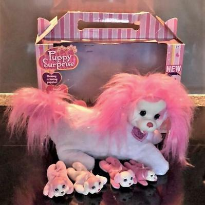 Vintage Puppy Suprise - Ellie With 4 Pups - Great Cond For Age