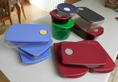 LOT TUPPERWARE ROCK N Serve Microwave Container