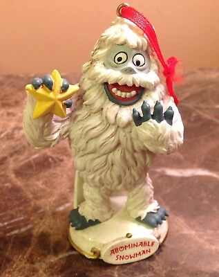 1999 Rudolph Co Abominable Snowman Island of Misfit Toys Ornament Cannon Falls