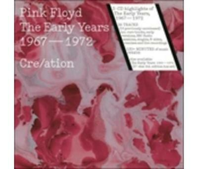 Musica WARNER MUSIC - PINK FLOYD - THE EARLY YEARS 1967 - 1972 CRE/ATION