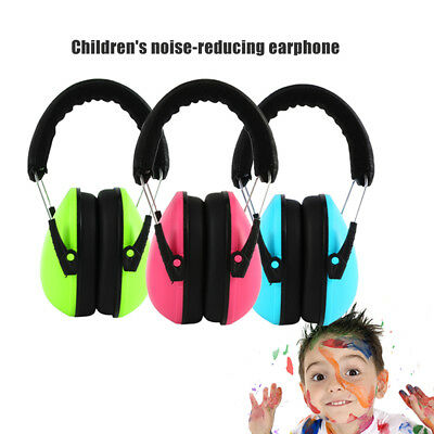 Hypersensitive Infant Kids Earmuffs Soft CHILDREN DEFENDERS NOISE Baby Ear muffs