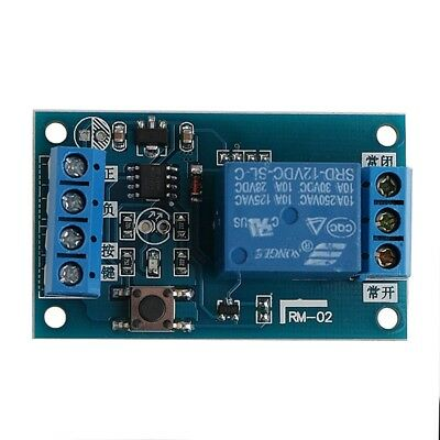 12V Bond Bistable Relay Module Car Modification Switch Start Stop Self-Locking