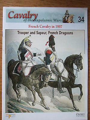 DEL PRADO- CAVALRY-NAPOLEONIC WARS -No 34 FRENCH CAVALRY IN 1807