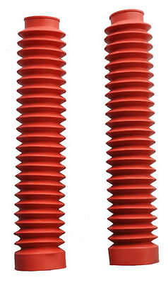 Red Fork Gaiters for: Yamaha YZ125 81-83