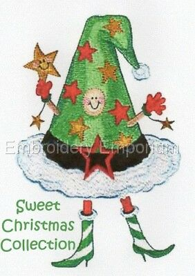 Sweet Christmas Collection - Machine Embroidery Designs On Cd