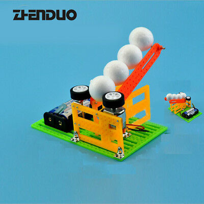 Automatic Ball Machine Technology Production DIY Puzzle Children Invention Toys