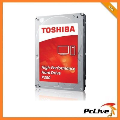 "TOSHIBA 2TB SATA III Hard Disk Drive 3.5"" 7200 RPM 64MB Internal Desktop P300"