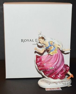 Royal Doulton Limited Edition Hn Icons Columbine Figurine 0466 Of 2,500 New