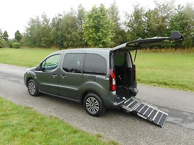 2015 Peugeot Partner Tepee 1.6 Hdi AUTOMATIC Wheelchair Accessible Vehicle WAV