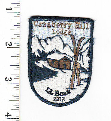 Maine..Cranberry Hill Lodge...L.L. Bean Embroidered Patch..Hat Or Shirt....#896y