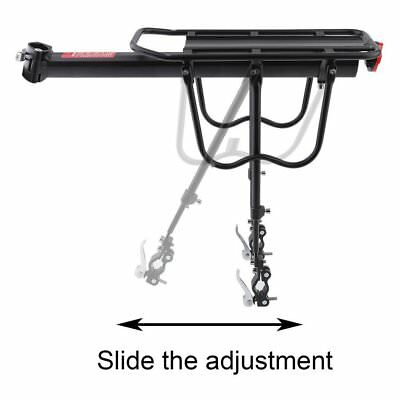 Quick Release Bicycle Rear Rack Bike Luggage Carrier Seatpost Bag Hold ES