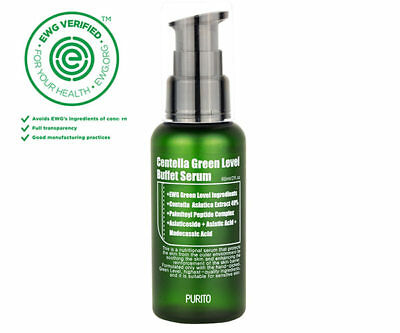 Purito Centella Green Level Buffet Serum / Free Gft / Korean Cosmetics