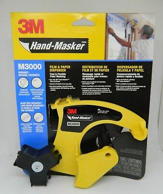 3m Hand Masker Dispenser Paint Tools Supplies Tape Dispensers
