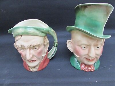 Two Large Beswick Toby Character Jugs, 310 - Micawber & 372 - Scrooge