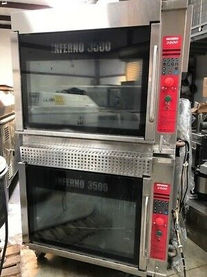 Hardt Inferno 3500 Double Stack Rotisserie Ovens Excellent Condition