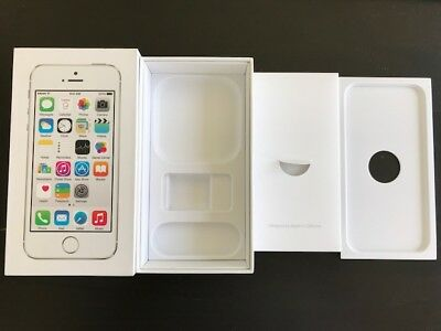 """iPhone 5s empty box ONLY """" NO accessories No Phone """" for 16 GB  Free Ship"""