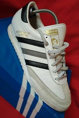 Mens Adidas Beckenbauer Allround Trainers. Size 11. White black Used. Worn  Once b2eb267e4
