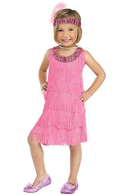Brand New 1920s Lil Flapper Great Gatsby Toddler Costume