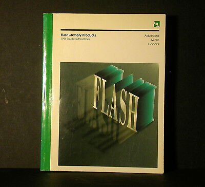 AMD Advanced Micro Devices Flash Memory Products Databook Data Book 1996