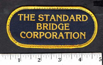 The Standard Bridge Corp. Patch... Embroidered Edge/Printed Lettering...#894y