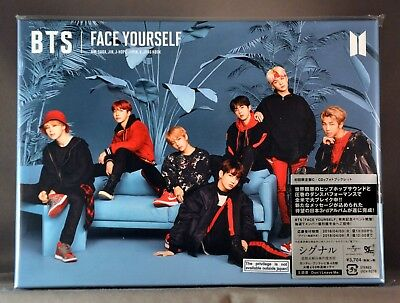 "BTS Bangtan BOYS Face Yourself CD DigiPak + Photo Booklet JAPAN Type ""C""  9279"