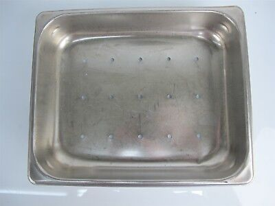Production 125th Stainless Steel Instrument Tray 12.5x10.25x2.5 Inches